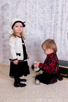 Dusek Twins Chrismtas Pics 2014
